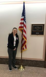 Ashtyn at Jerry Moran's office 1