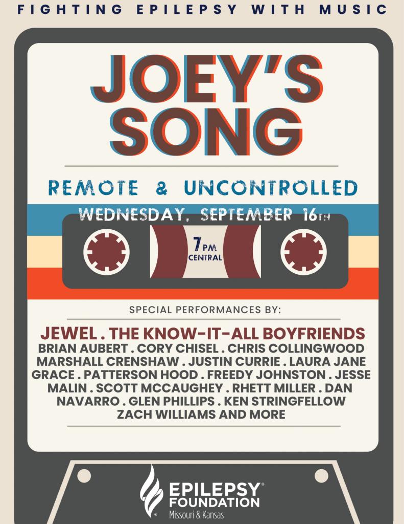 Joeys Song Flyer EFMK